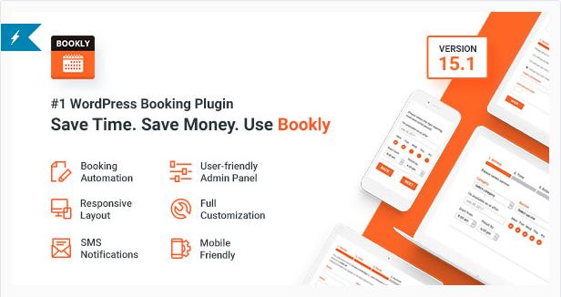 Bookly No.1 WordPress Booking Plugin