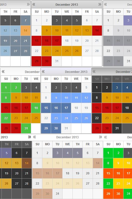 Booking Calendar screenshot-011