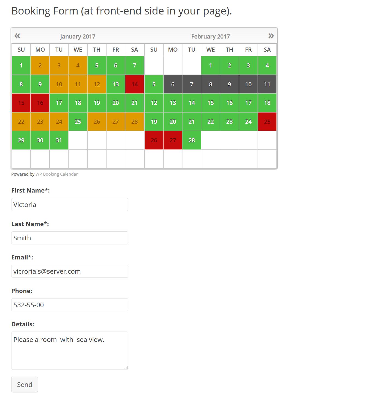 Booking Calendar screenshot-05
