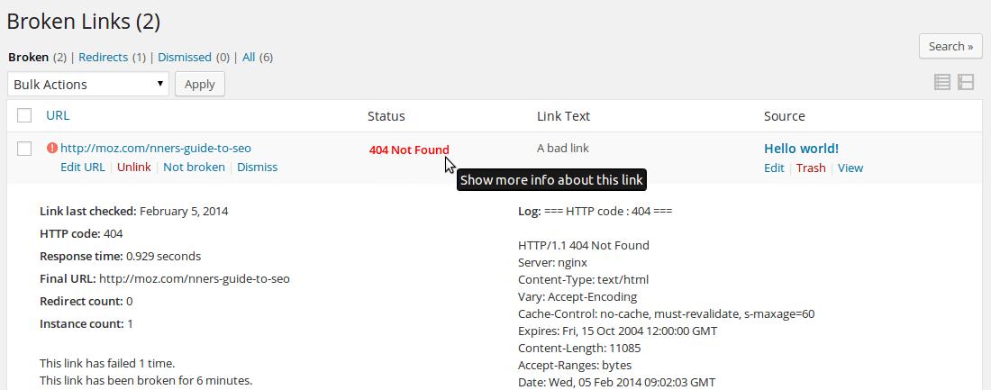 Broken-Link-Checker-WP-Plugin-screenshot-3