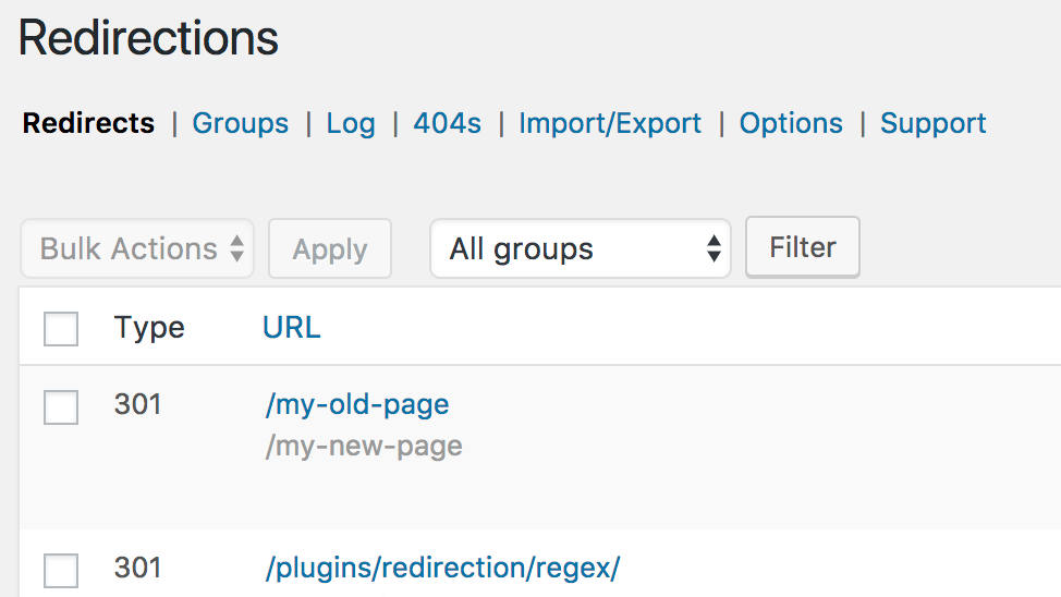 Redirection-WP-Plugin-screenshot-1