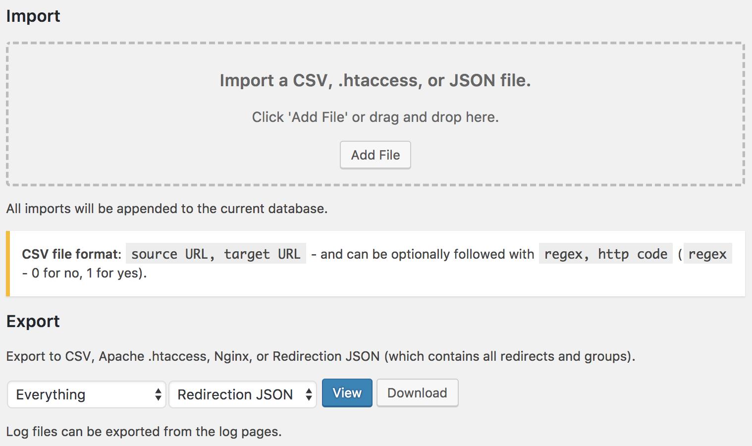 Redirection-WP-Plugin-screenshot-4