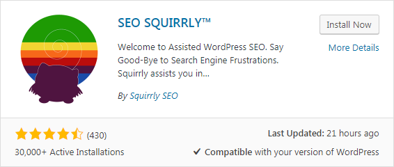 Squirrly is more than a SEO tool – it's a complete content marketing suite.