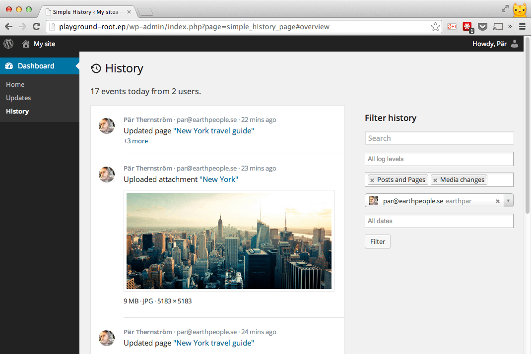 Simple-History-WP-plugin-screenshot-1