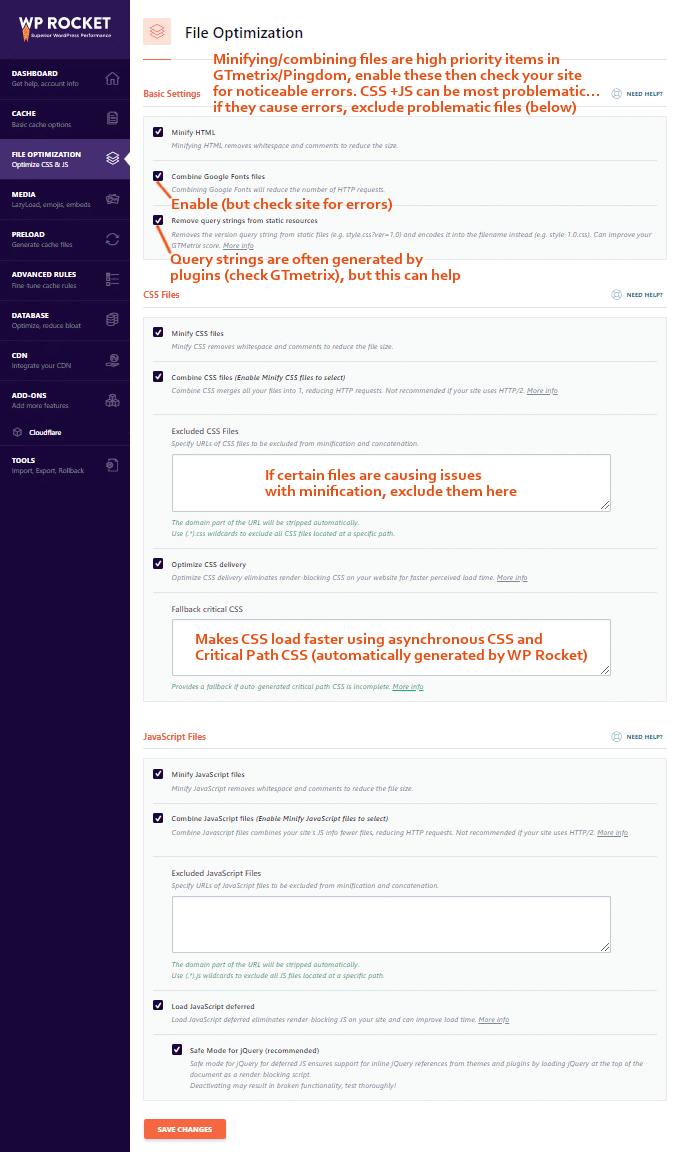 WP-Rocket-File-Optimization-Settings